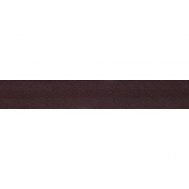 Not stretchy band 2.5m dark brown