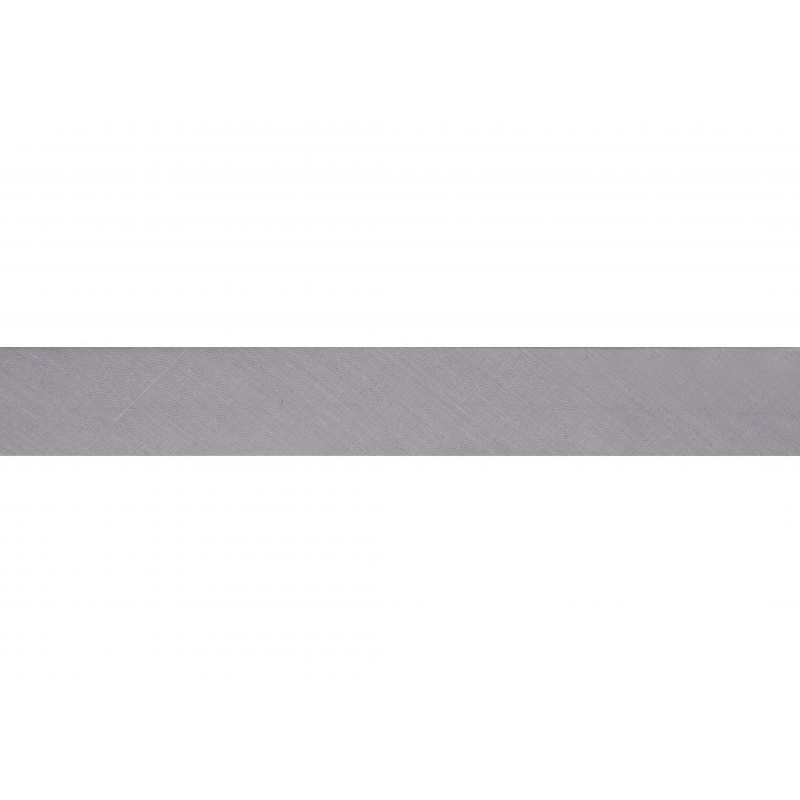 Not stretchy band 2.5m pack silver gray