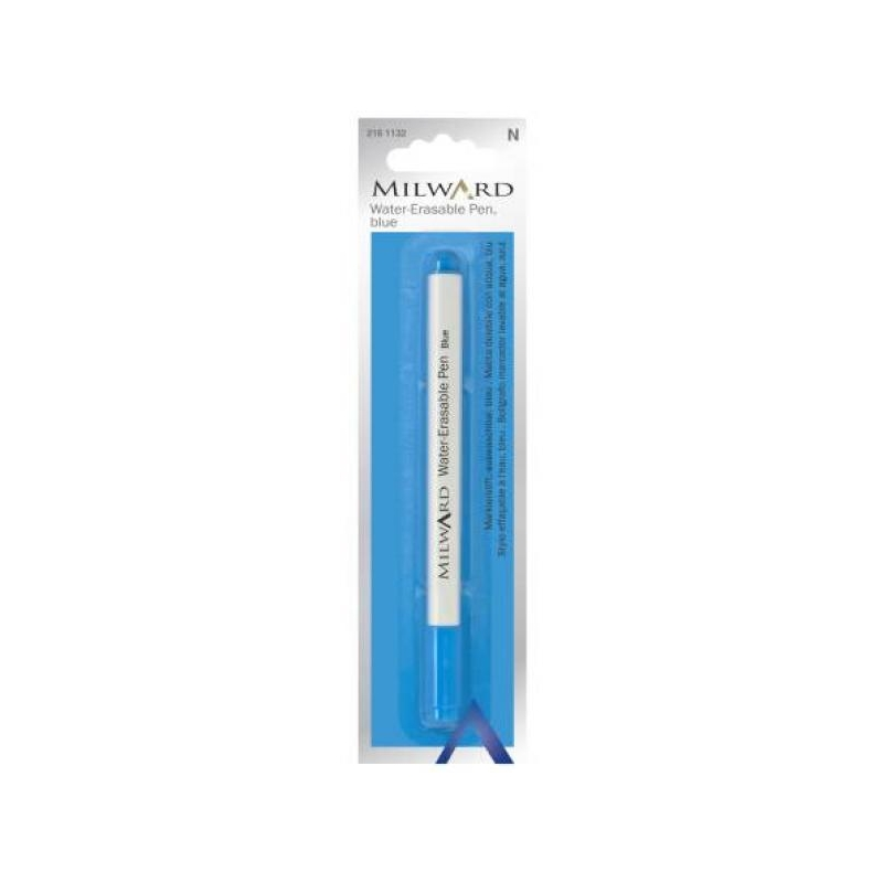 Water-erasable pen blue
