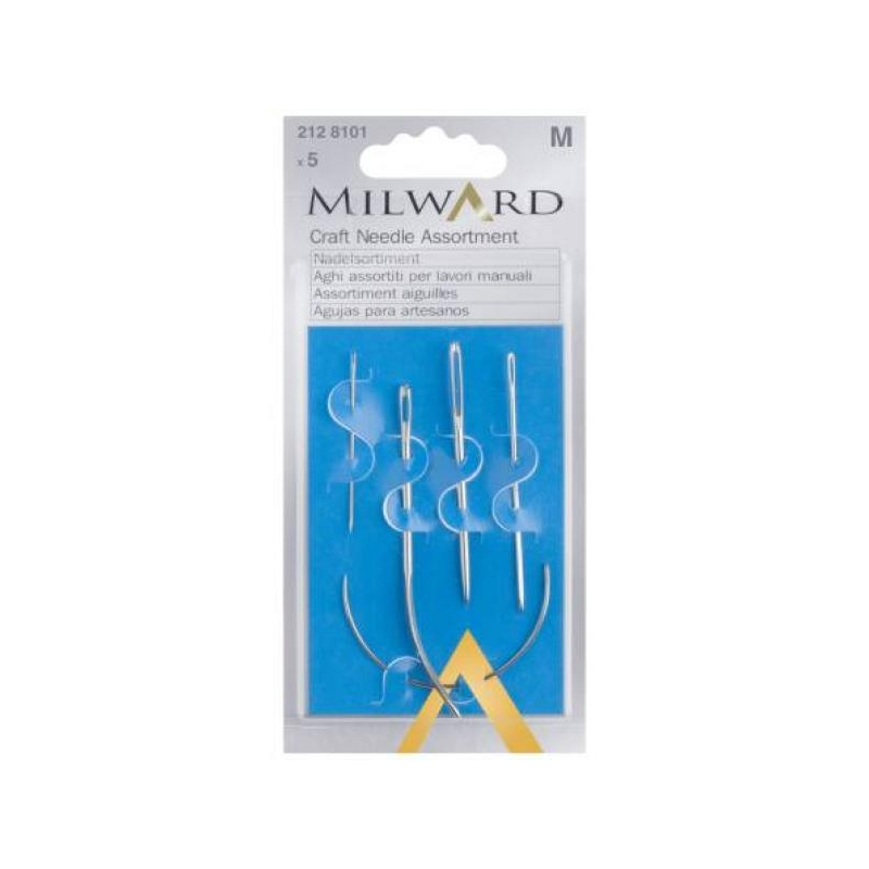 Craft needle assortment 5 in pack