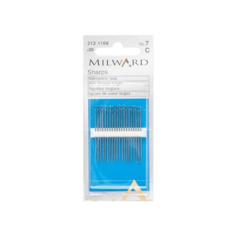 Sharps needles no.7 20 in pack