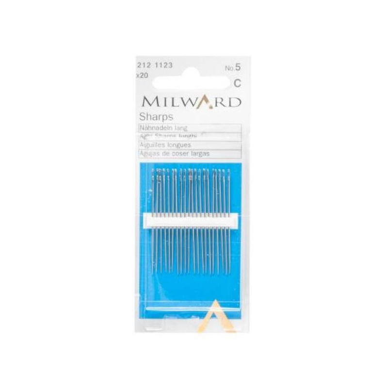 Sharps needles no.5 20 in pack