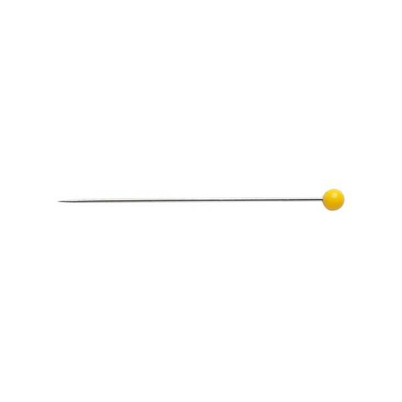 Plastic-headed pins 45x0.75mm 60 in pack