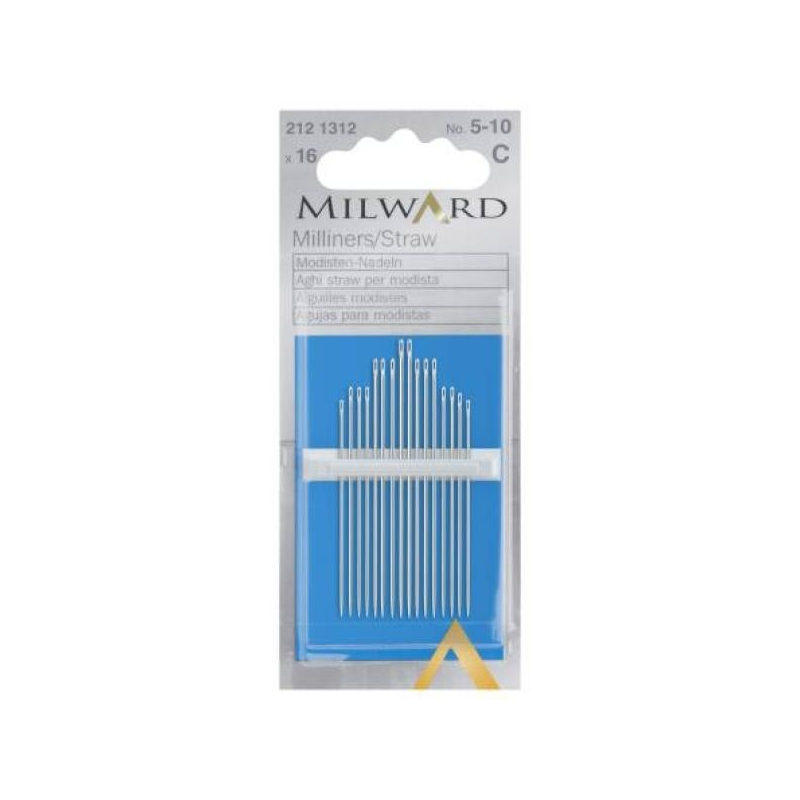 Milliners/straw no.5-10 16 in pack