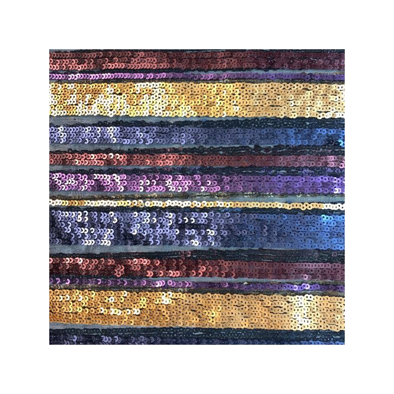 Litter fabric colorful stripes