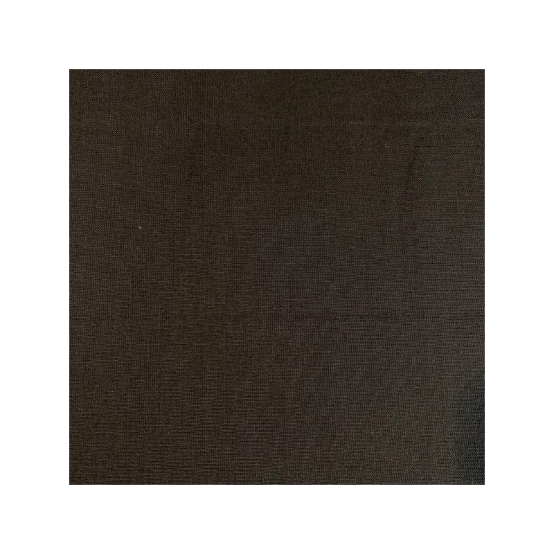 100% cotton fabric black