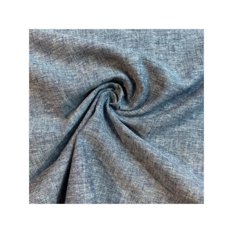 Linen cotton blue