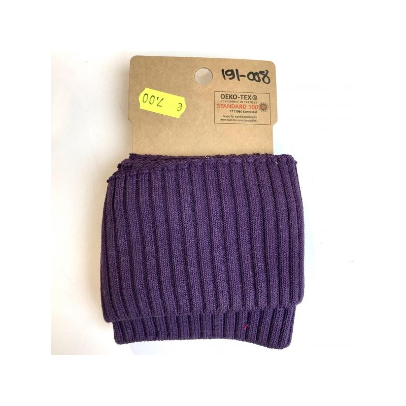 Rib pack  knitted purple