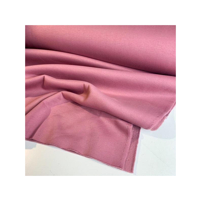Thicker brushed cotton jogging old rose
