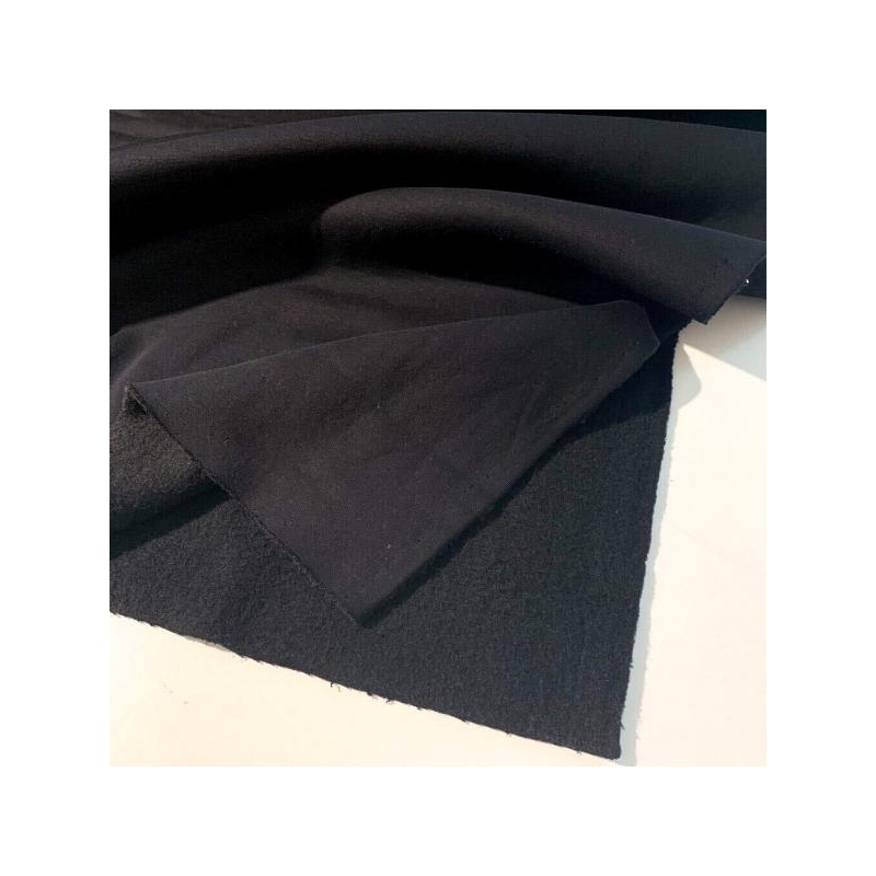 Thicker brushed cotton jogging black
