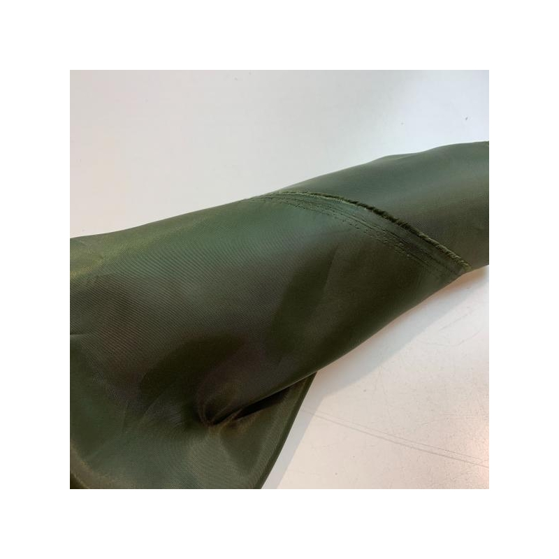 Lining olive green