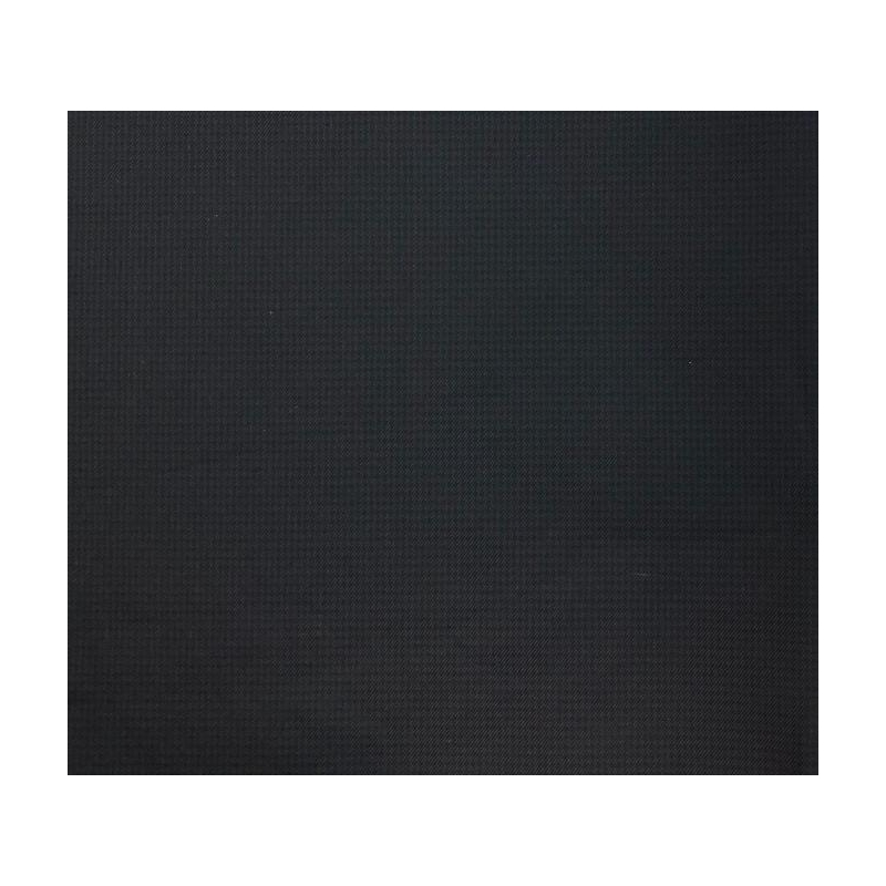 Water repellent fabric navy black
