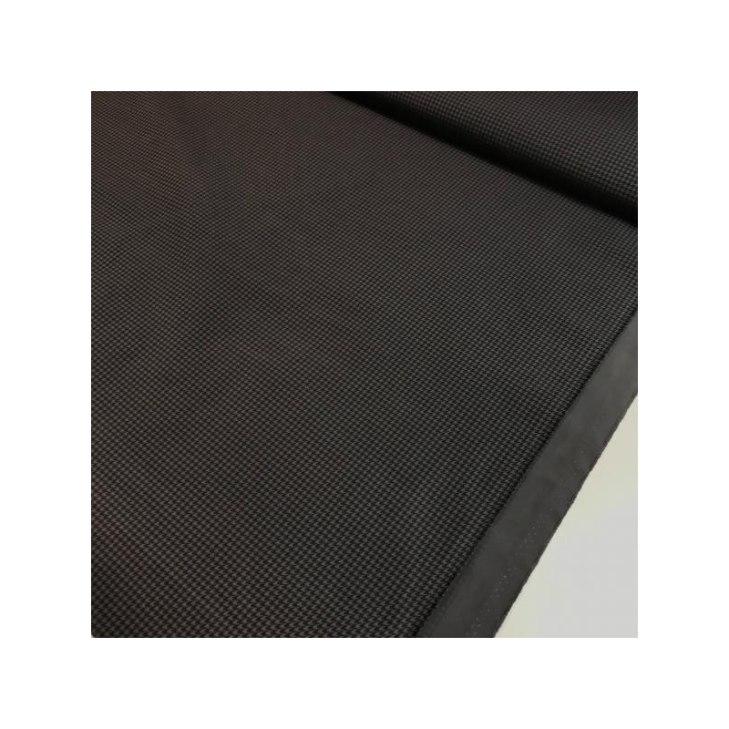 Water repellent fabric grey and black