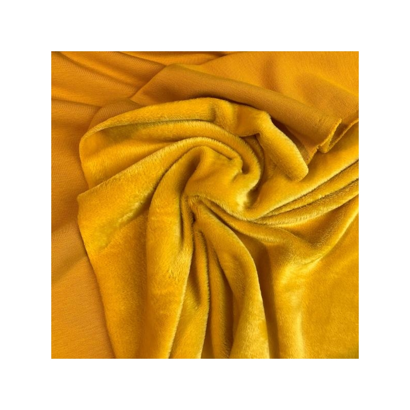 Fleece jogging yellow