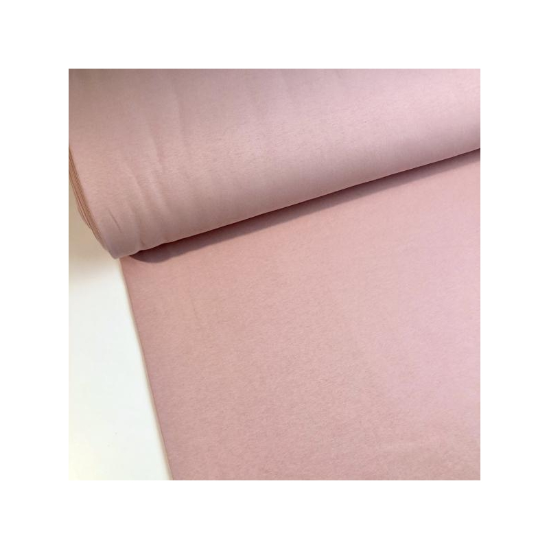Thicker cotton jogging brushed beige/ baby pink