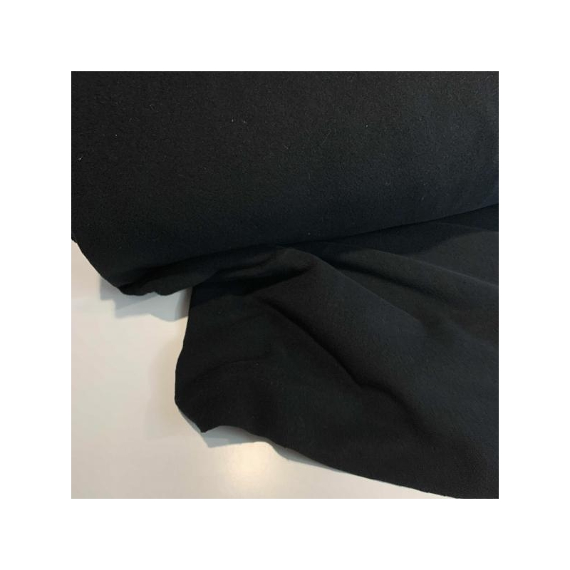 wool and cashmere mix black