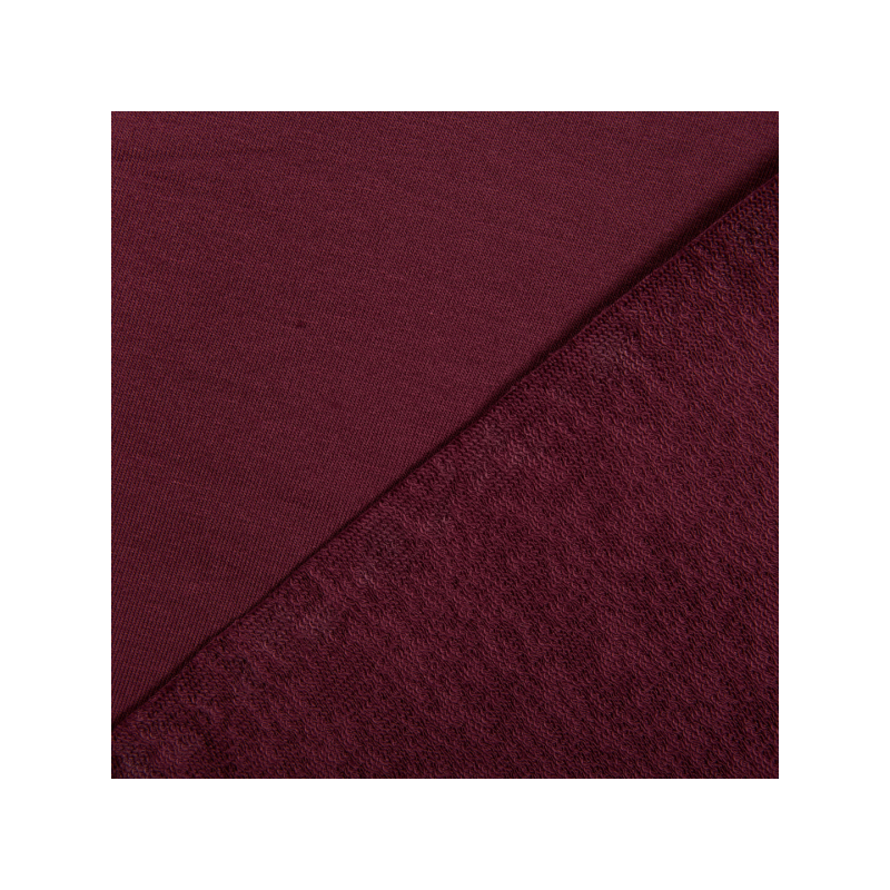Cotton jogging bordeaux