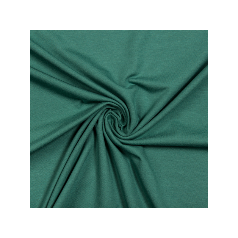 Cotton jersey dark mint