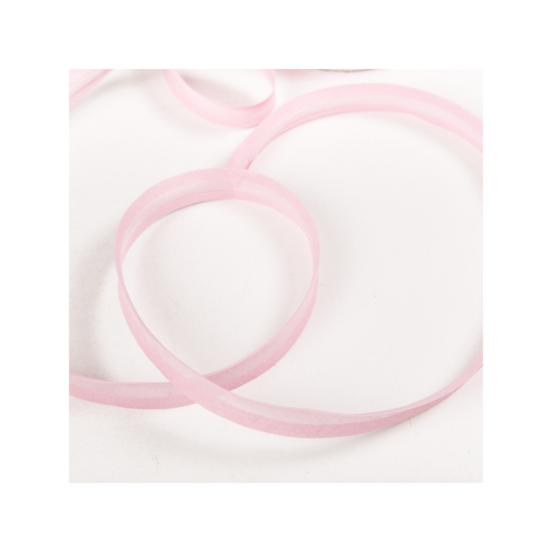 100% cotton biasband baby pink