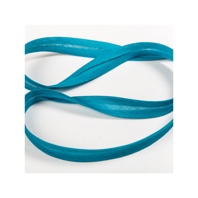 100% cotton biasband turquoise