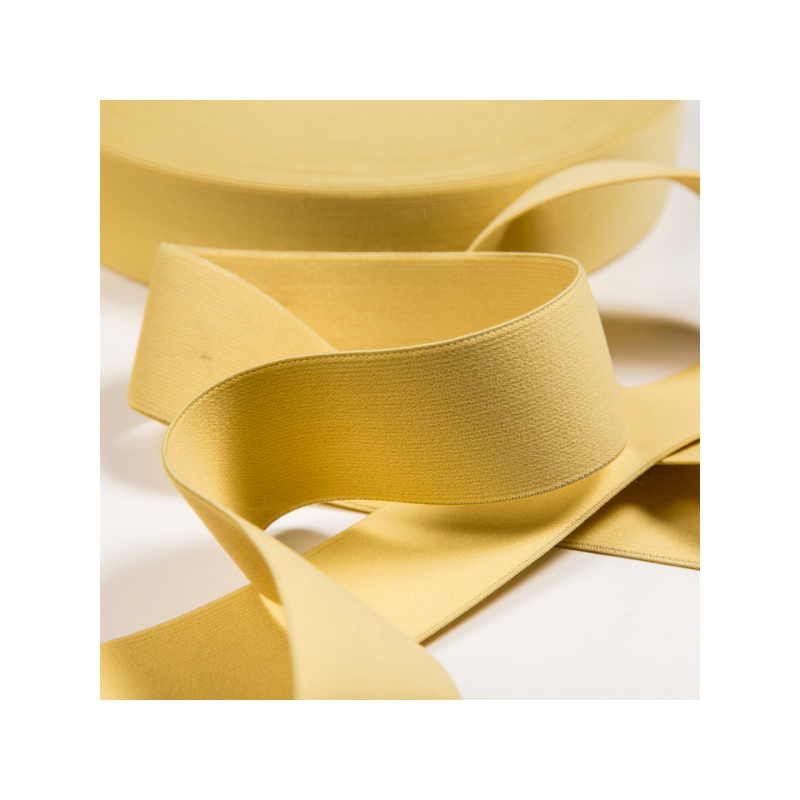 Soft touch elastic light yellow