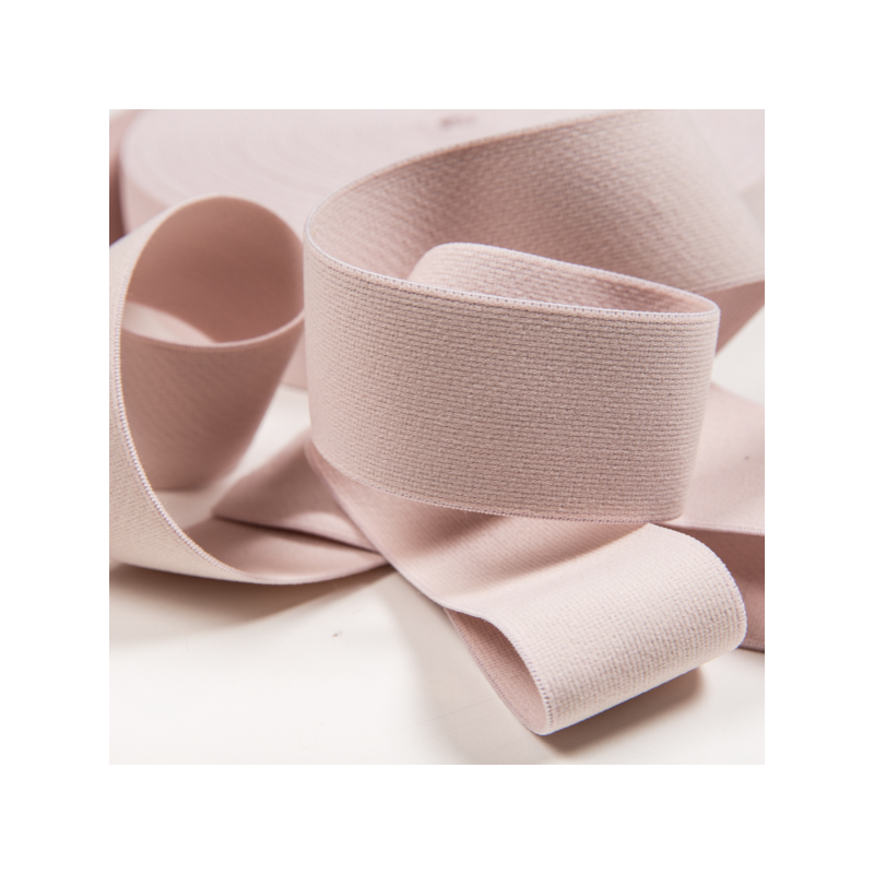 Soft touch elastic light pink