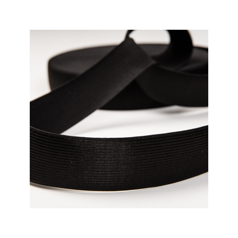 Normal elastic black 4 cm