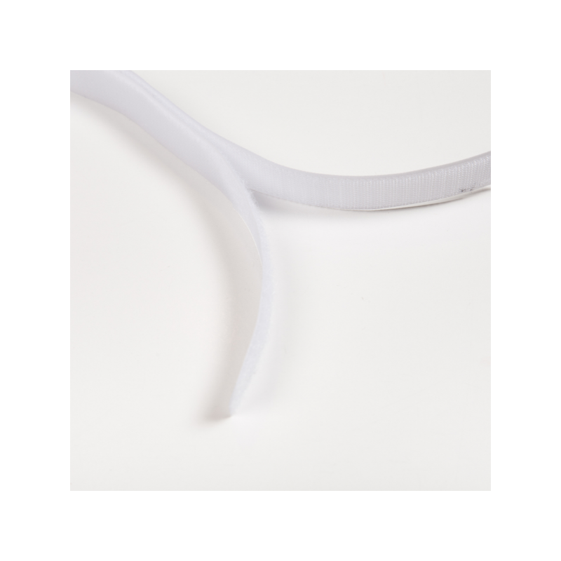 Velcro strap white 25 mm