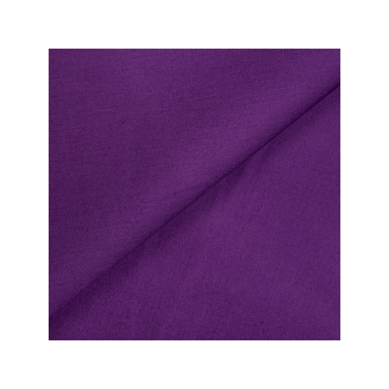 Cotton poplin purple