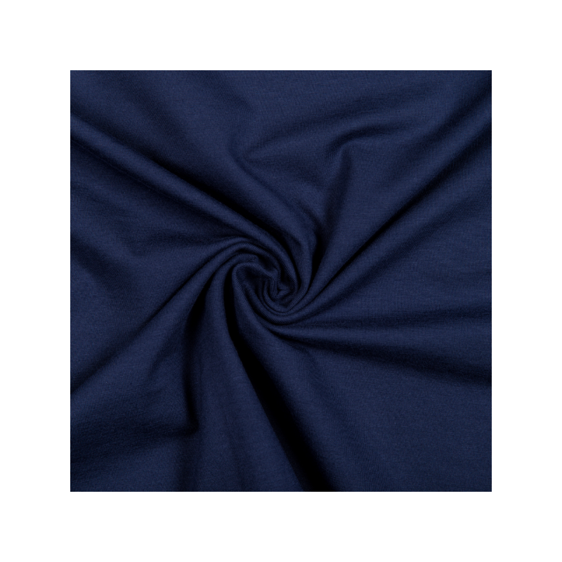 Cotton jersey navy