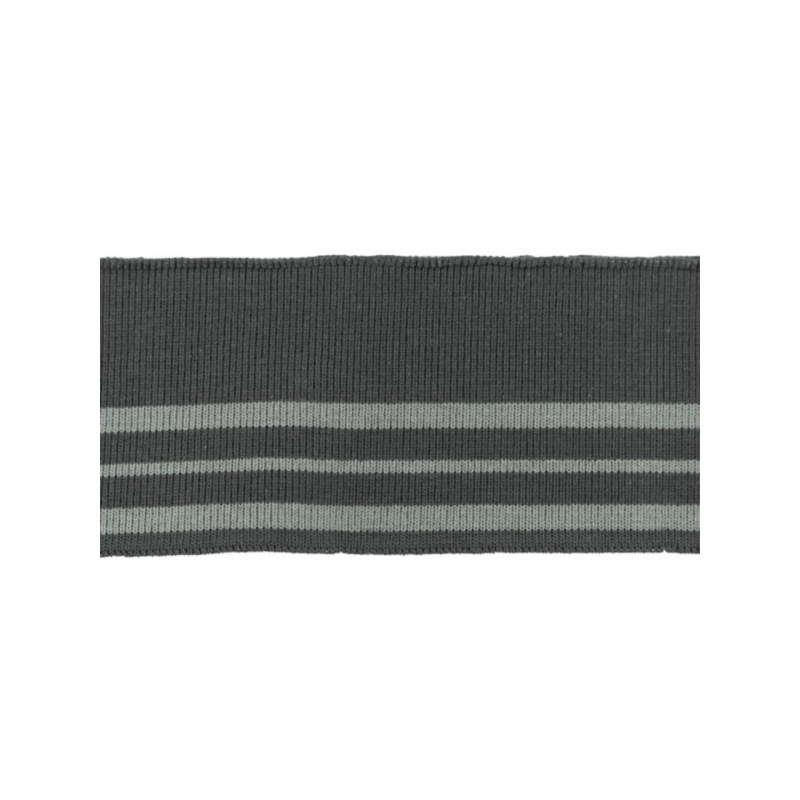 Rib pack stripes dark drey
