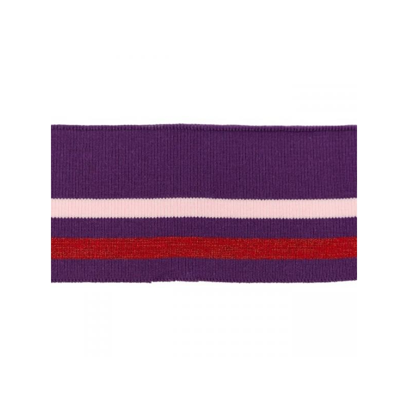 Rib pack stripes lilac