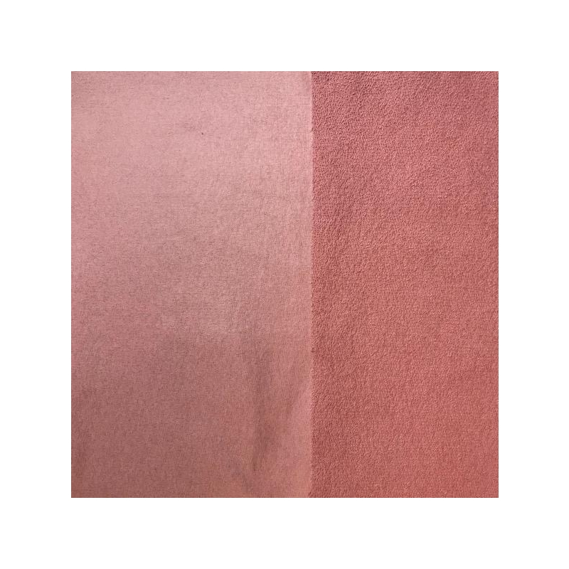 100% cotton coated dusty pink