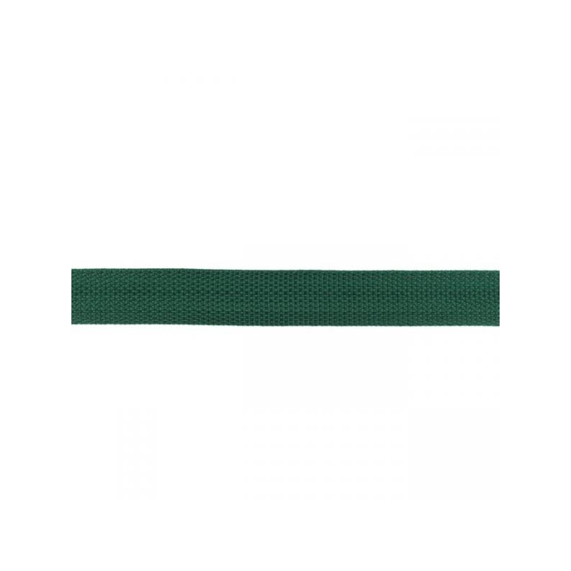 Webbing 25 mm polypropylene bottle green