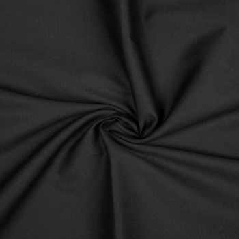 Cotton poplin black
