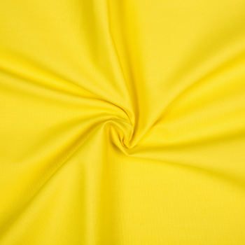 Cotton poplin yellow