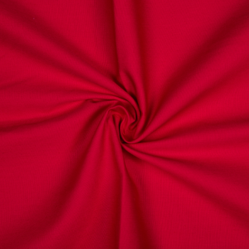 Cotton poplin red
