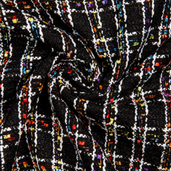 Jacquard squares multicolored