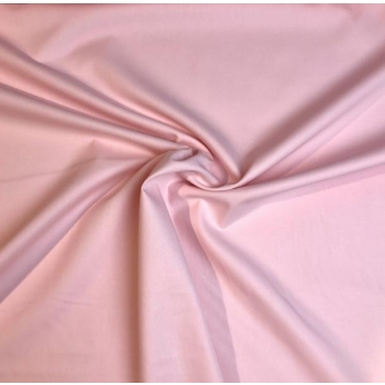 Cotton poplin light rose