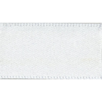 NewLife satin ribbon 25mm bright white