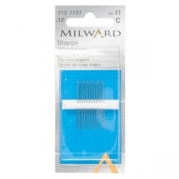 Sharps needles no.11 12 in pack