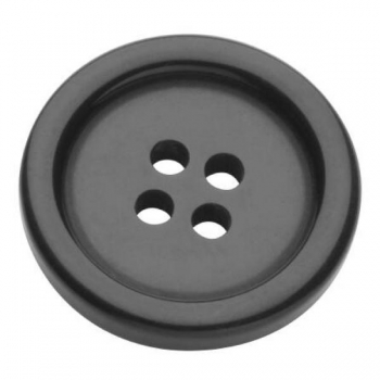 Buttons 20mm 10 in pack black