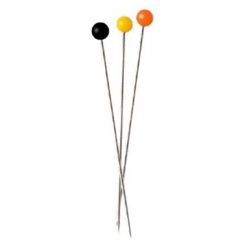 Plastic-headed pins 33x0.65mm