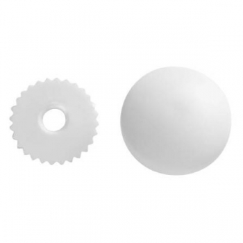 Cover buttons 18mm 5 in pack