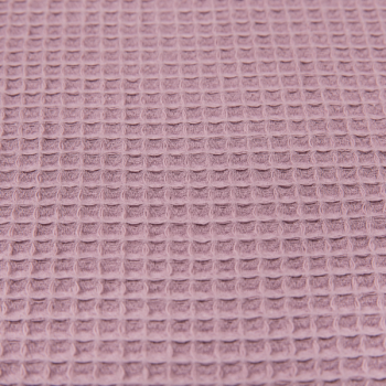 Waffle small dusty pink