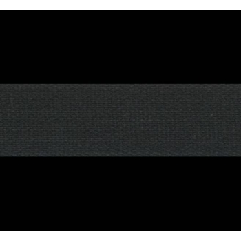 Cotton tape 20mm 3m in pack black