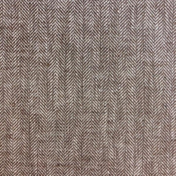 Linen cotton twill beige