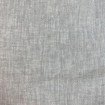 Linen cotton twill grey