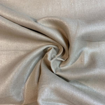 Linen viscose rose gold