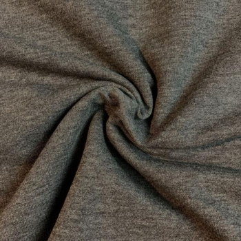 Cotton jogging brushed dark grey